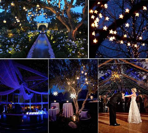 themes in the story night starry night wedding theme centerpieces images
