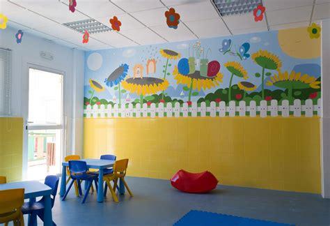 decoracion mural murales infantiles para colegios imagui