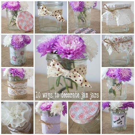 Decorate jam jars   the crafter in me   Pinterest