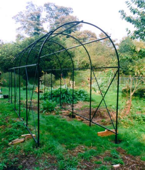 Garden Arch Circle Garden Structures Blacksmith Wrought Riveted