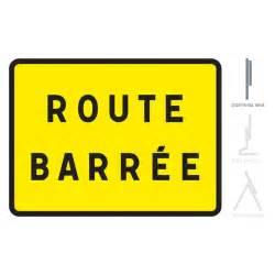 panneau de chantier kc1 route barr 233 e