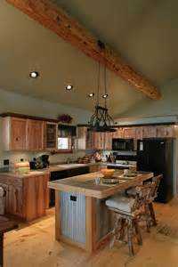 cabin kitchen ideas log cabin kitchens with modern and rustic style homestylediary com