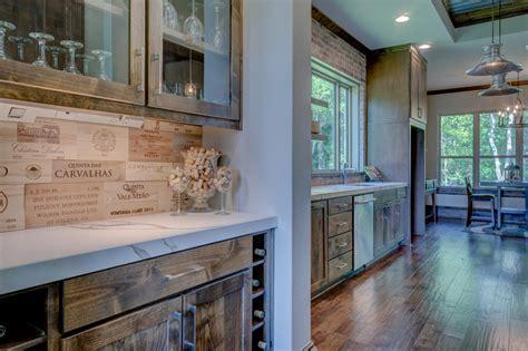 desain dapur gaya bar gambar pedalaman kemewahan rumah modern desain