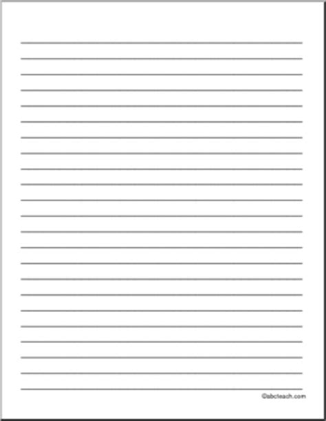 blank lined writing paper 9 best images of staar lined writing paper printable