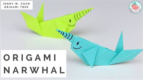 origami jellyfish tutorial 21 best narwhal unicorn of the sea images on pinterest