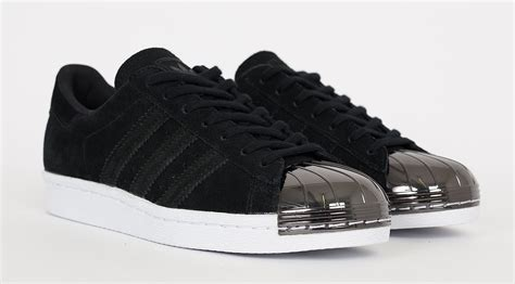 Original Bnib Adidas Superstar Metal Toe adidas superstar black metallic toe aoriginal co uk