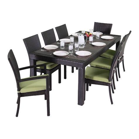 shop rst brands deco 9 composite patio dining set at