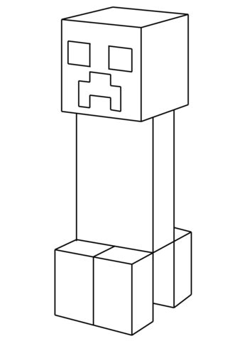 minecraft coloring pages creeper face coloriage creeper coloriages 224 imprimer gratuits