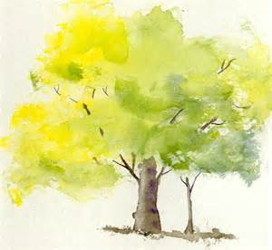 water color trees watercolor tree watercolor trees