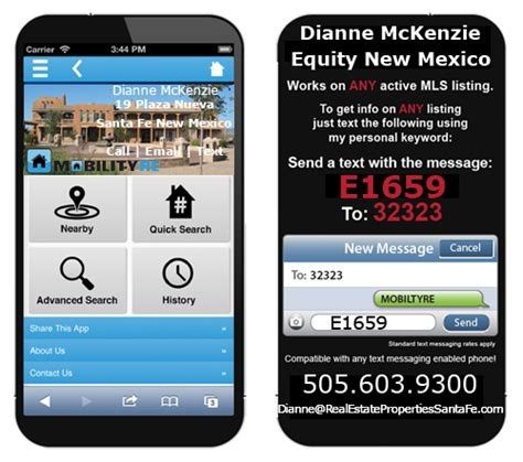 Free Real Search Free Real Estate Search Mobile App Real Estate Properties Santa Fe Equity New Mexico