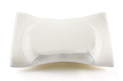 therapeutic bed pillows therapeutic design contour memory foam bed pillow review
