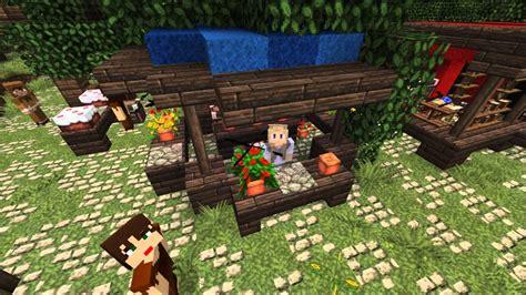 Fish Chandelier Minecraft Medieval Market Youtube