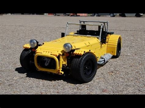 lego rc caterham 7 the awesomer