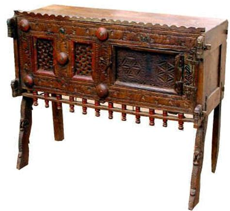 chest from india history of interiors