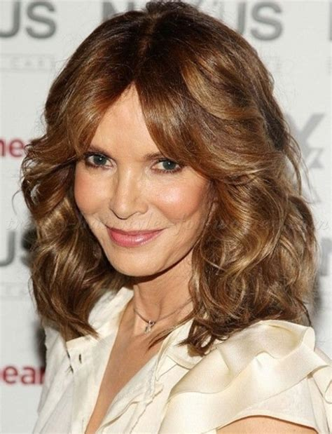 hair styles for the older woman with shoulder length hair shoulder length hairstyles over 50 shoulder length
