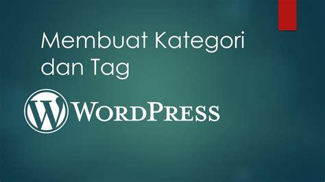 membuat kategori wordpress rocket manajemen belajar manajemen bisnis online dan