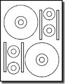 40 stomper 174 pro format cd dvd labels matte white for