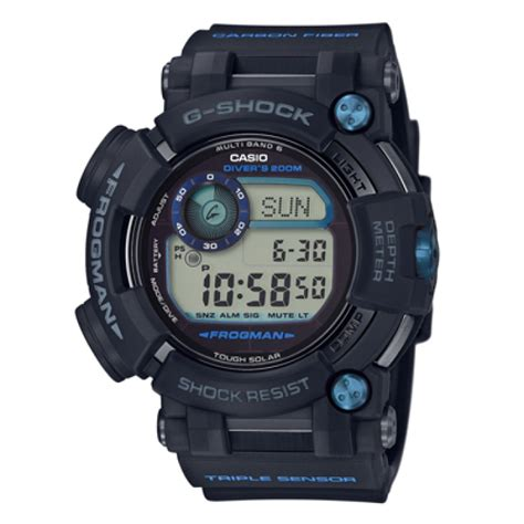 Casio G Shock Frogman Gwf D1000b 1jf With Water Depth Sensor Jdm Origi casio g shock gwf d1000b 1jf frogman japan onlinestore
