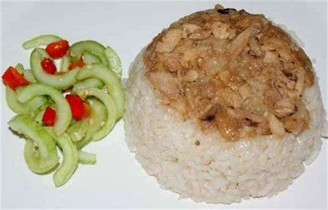 cara membuat nasi tim hainam resep cara membuat nasi tim
