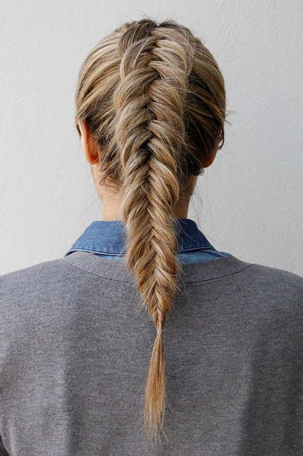 reverted braid styles awesome love this and fishtail on pinterest