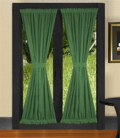 hunter green drapes solid hunter green colored swag window valance optional