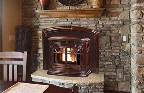 enviro m55 pellet burning fireplace insert