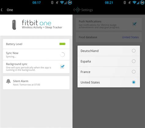how to sync fitbit with android phone synchronize your fitness with fitbit 171 android appstorm
