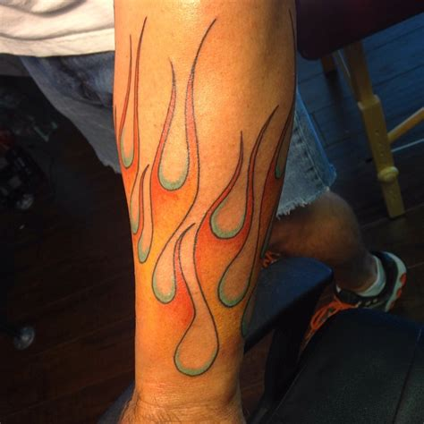 flames tattoo tattoo collections