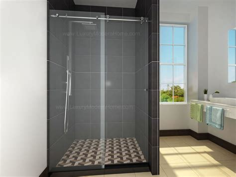 Modern Glass Shower Doors Sliding Shower Door Hardware Only Stainless Steel 304 Custom Glass 60 Quot Bathtub Luxury Modern Home