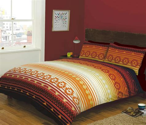 indian inspired quilt duvet cover pillowcase bedding bed