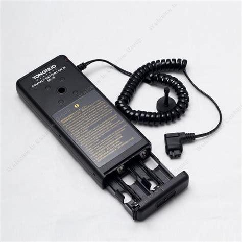 Flash External Yongnuo external flash battery pack sf 18 for yongnuo flash yn 560