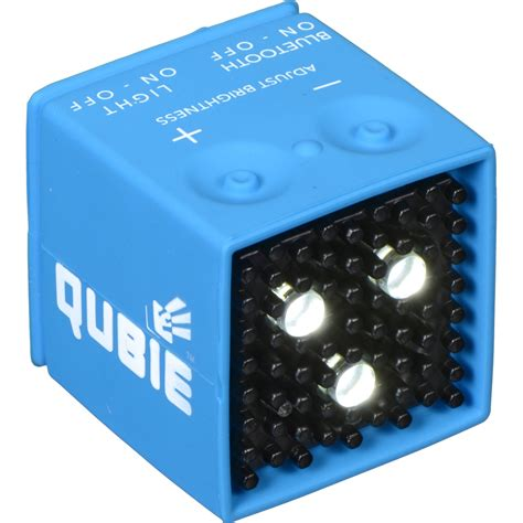 micro led strobe lights ic one two the qubie bluetooth micro led strobe icqb v01