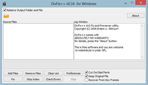 div fix كيف تصلح ملفات الفيديو avi المعطوبة المحترف شروحات