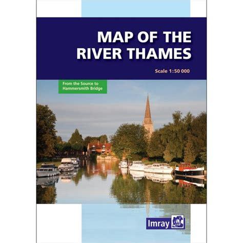 imray river thames map imray map of the river thames sheridan marine
