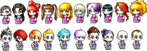 maplestory hairstyles by town list of maplestory hairstyles and face ayumilove