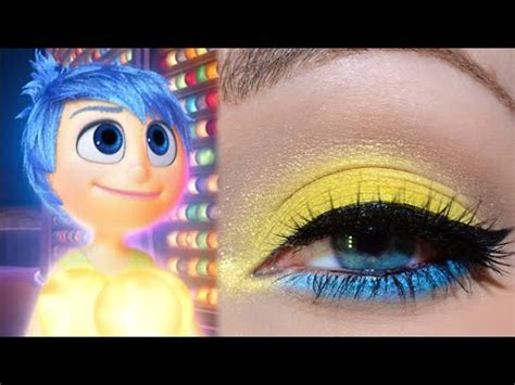 makeup tutorial joy pixar s inside out joy inspired makeup tutorial youtube