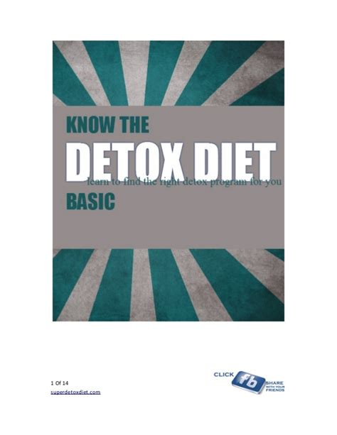 The Detox Foods Free Ebook by Detox Diet Ebook