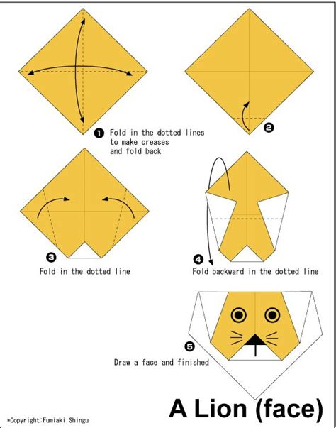 Steps To Make A Paper Easily - 17 best ideas about easy origami animals on