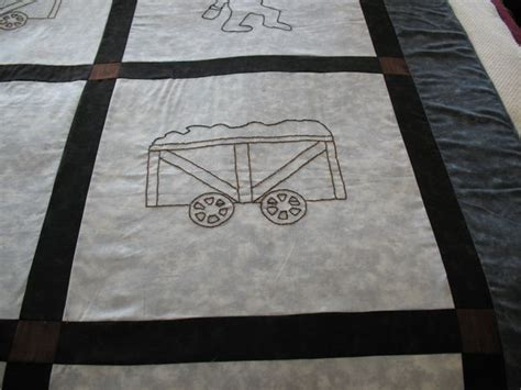 Coal Miner Quilt by Need Help With Quilting This Top