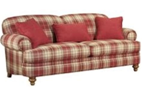 country plaid sofas providence country sofa by broyhill mad for plaid