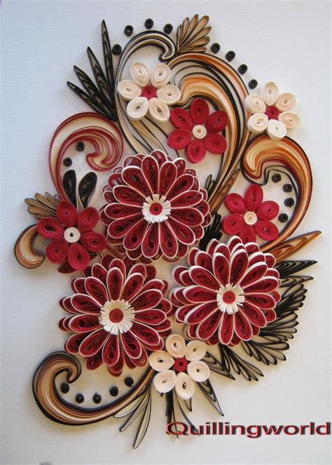 Paper Quilling Flower - 17 best images about paper quilling on