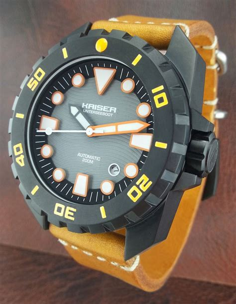 Handcrafted Watches - kaiser a blancier brand blancier handmade watches