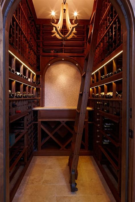 home wine cellar dedicated wine room for a high end customized home