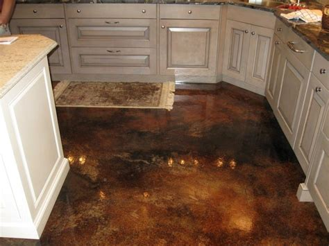 concrete kitchen floor interior concrete floors for the home