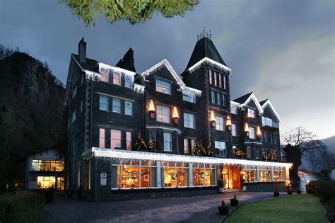 themed hotel lake district once upon a cumbrian christmas at the lodore falls hotel