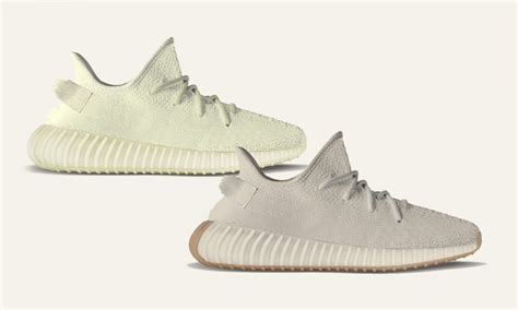 new year yeezy yeezy boost 350 v2 quot yellow quot and quot sesame quot are releasing