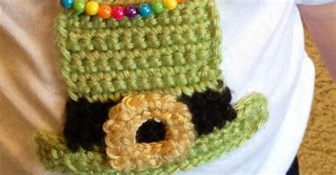html pattern ie vsw leprechaun hat crochet applique free pattern