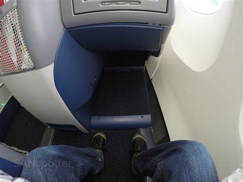 delta leg room delta airlines 767 300 business class delta one new york to los angeles sanspotter