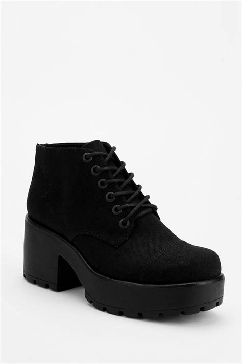 outfitters boots outfitters vagabond dion laceup ankle boot in black