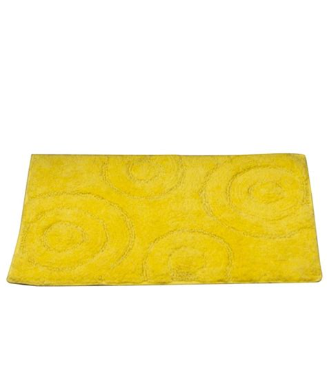 Yellow Bathroom Rugs House This Yellow Cotton Bath Rug Best Price In India On 20th February 2018 Dealtuno